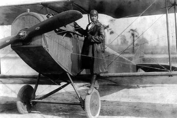 Bessie Coleman - photo Wikipedia